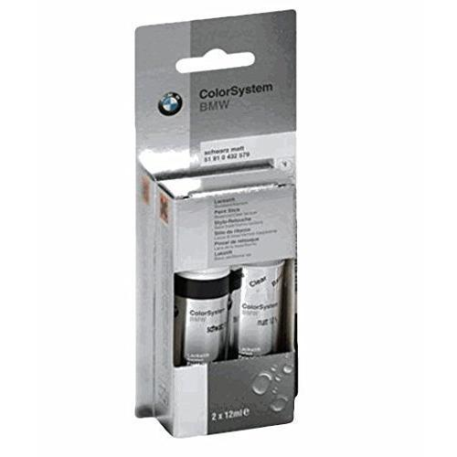 Original BMW Lackstift-Set Zweischicht Black Sapphire met. - 475