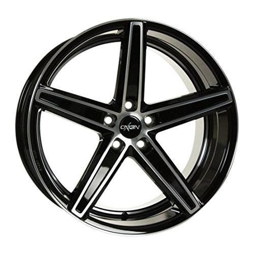 OXIGIN 18 Concave black full polish 8,5x19 ET35 5.00x114.30 Hub Bore 72.60 mm - Alu felgen